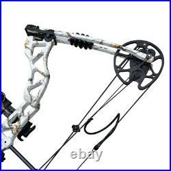 35-70lb Archery Compound Bow Right Hand Adult Hunting Target Outdoor Camo