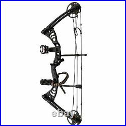SAS Scorpii 30-55 Lb 19-29 Compound Bow Package with Bow Stabilizer, Bow Sight